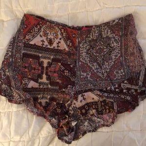 Beautiful patterned shorts
